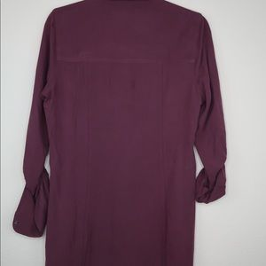 Abercrombie & Fitch Dresses - Abercrombie & Fitch 100% Silk Shirt Dress